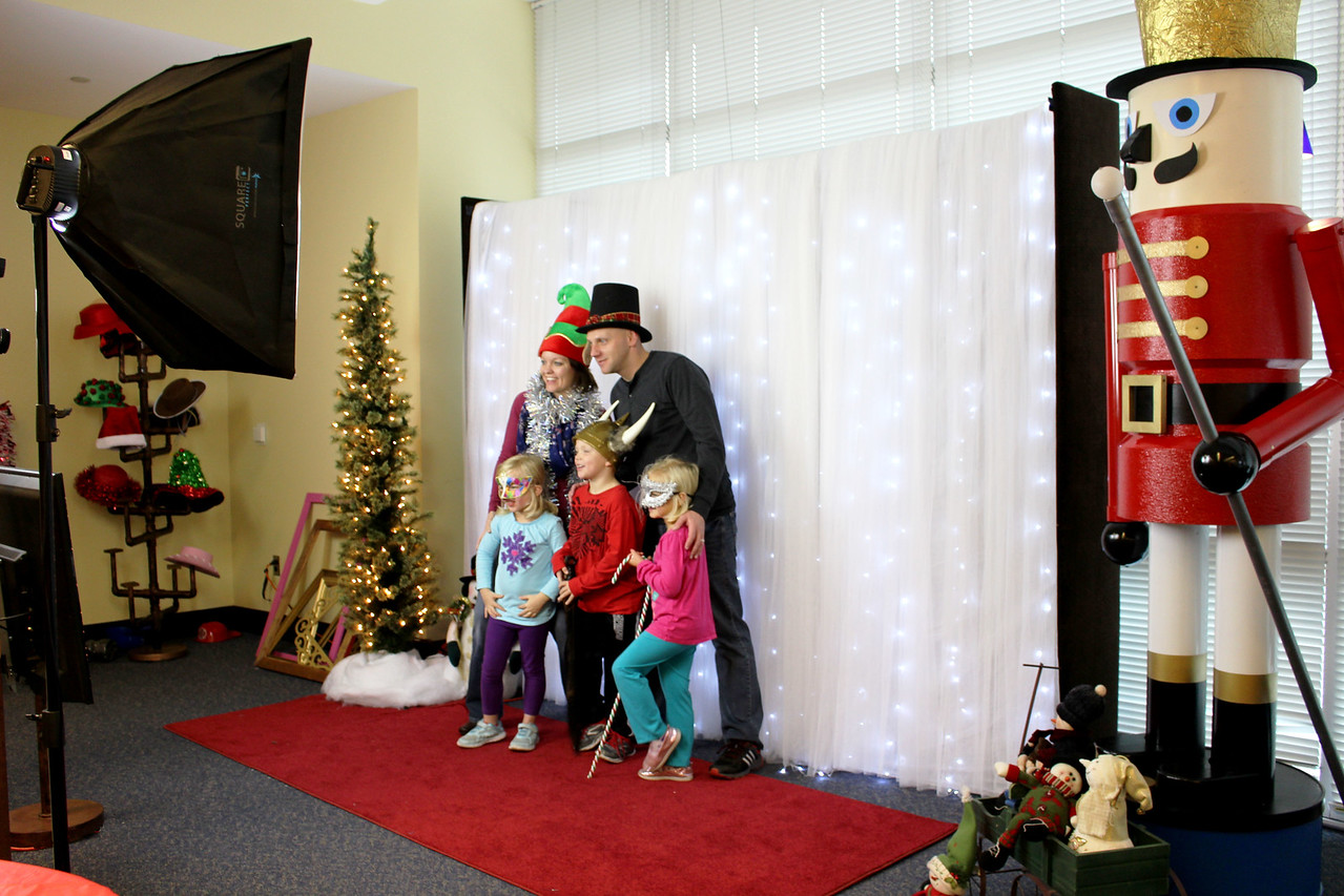 Corporate Christmas Photo Booth Shoot.