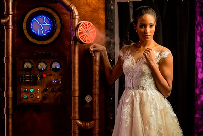Our Rustic Wedding Steampunk Photo Booth.