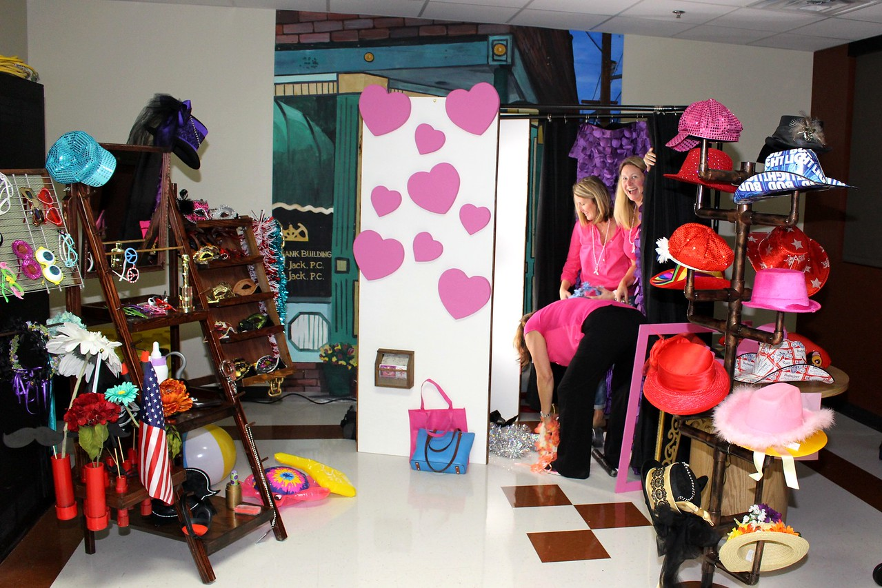 Our Photo Booth For Breast Cancer Out At St Mary's Medical Center.