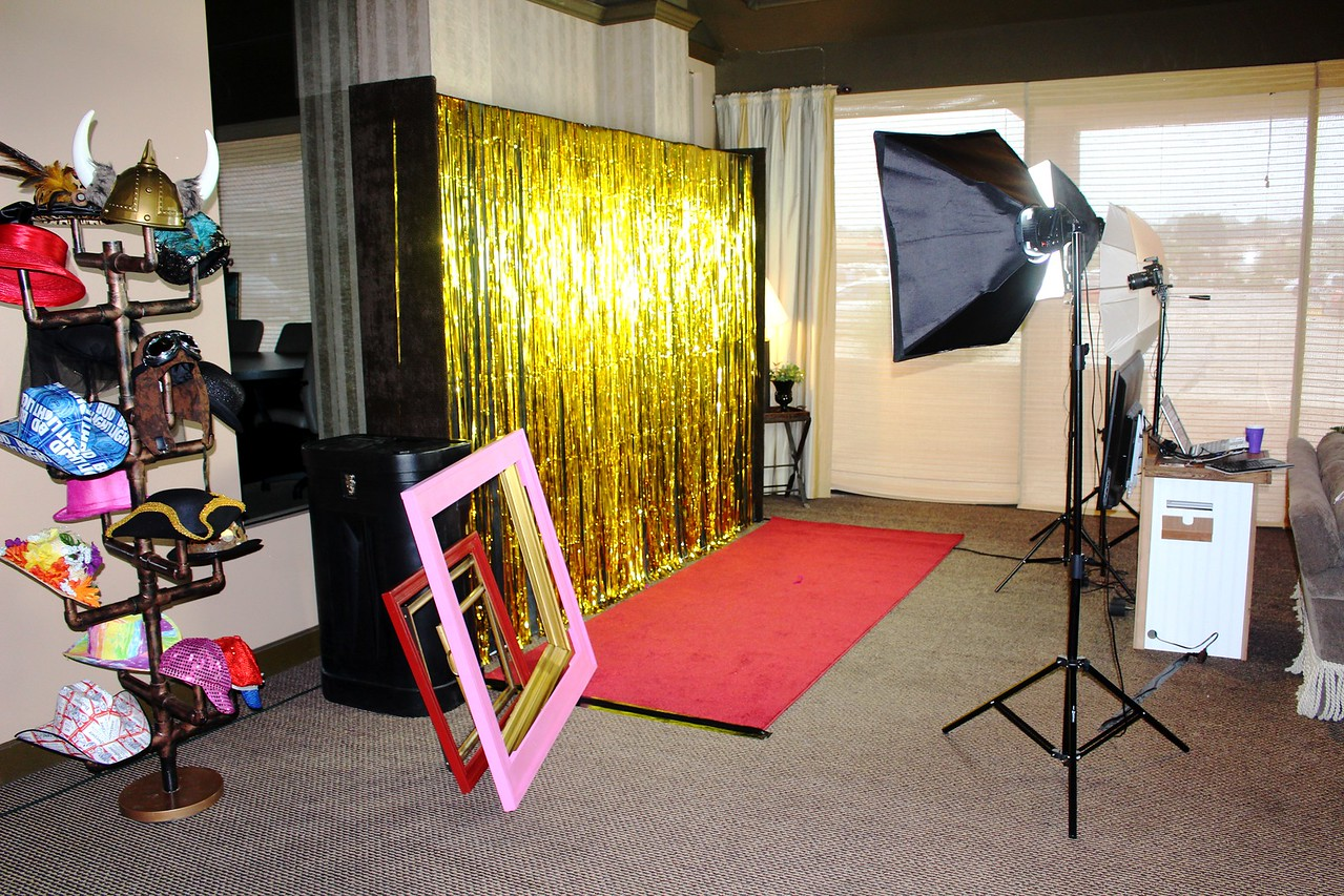 A Wedding Red Carpet Photo Booth Shoot.