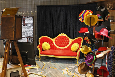 Our Red Settee Backdrop Photo Booth Shoot.