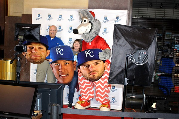 Our Photo Booth For The Kansas City Royals.
