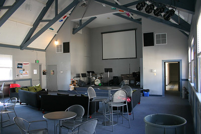 The Loft - a student ministries room - a lot more fun with people here...