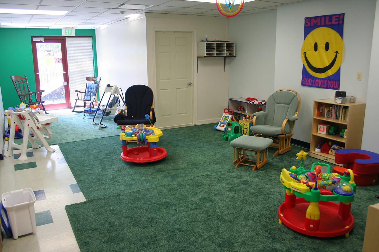 Nursery room.