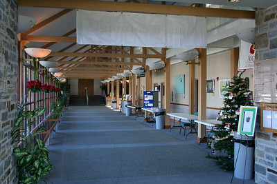 View of the concourse, from the bell tower entrance, 12/2005