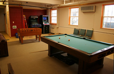 Student ministries game room / hangout room