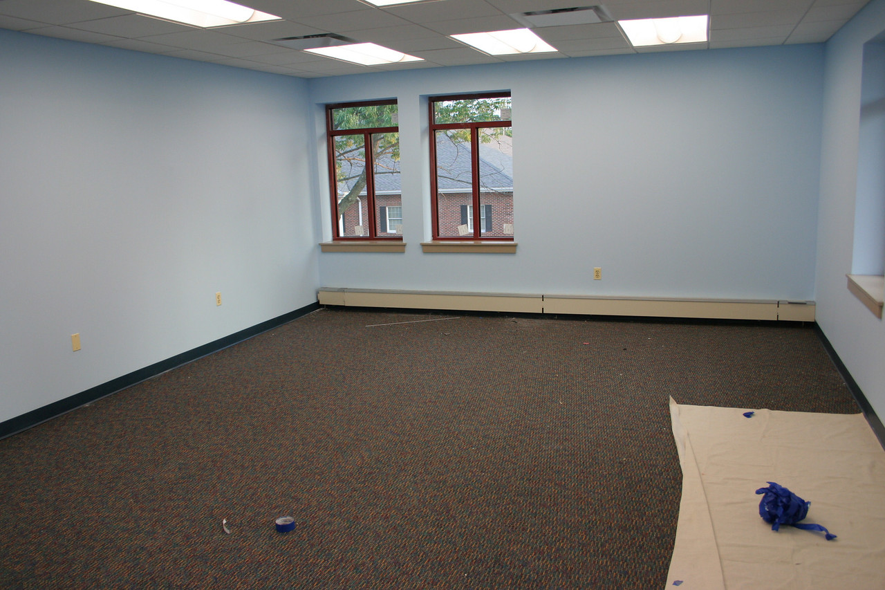 8/28/2007: remodeling a room, one of the two new chapel spaces where the old chapel used to be.