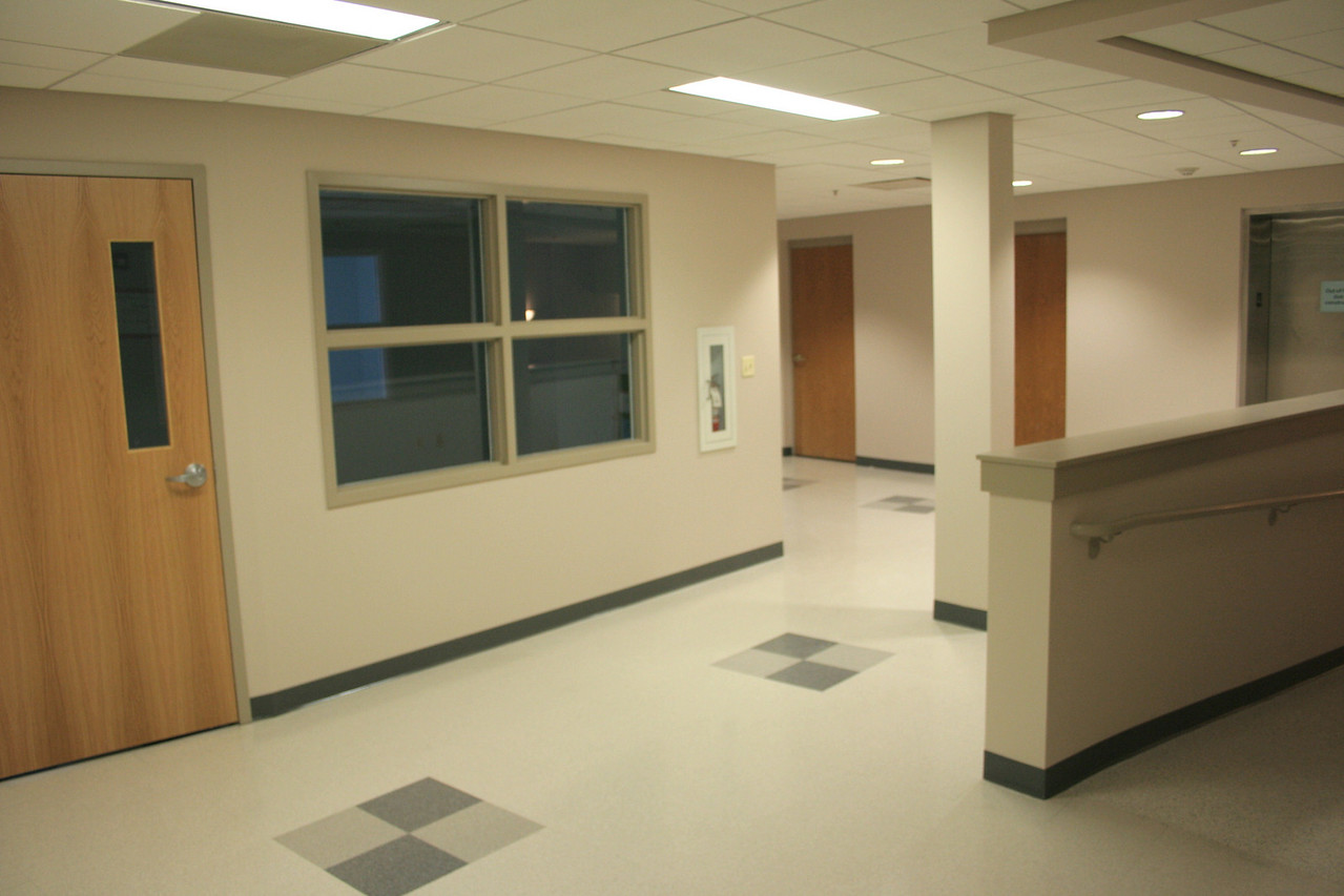 12/16/2007: redone and usable hallway and classroom