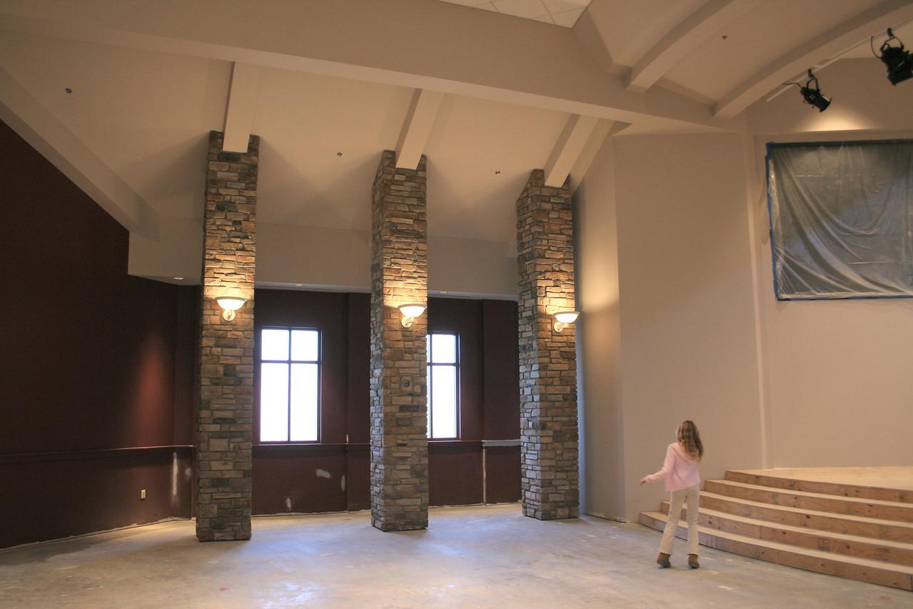 1/20/2008: north wall
