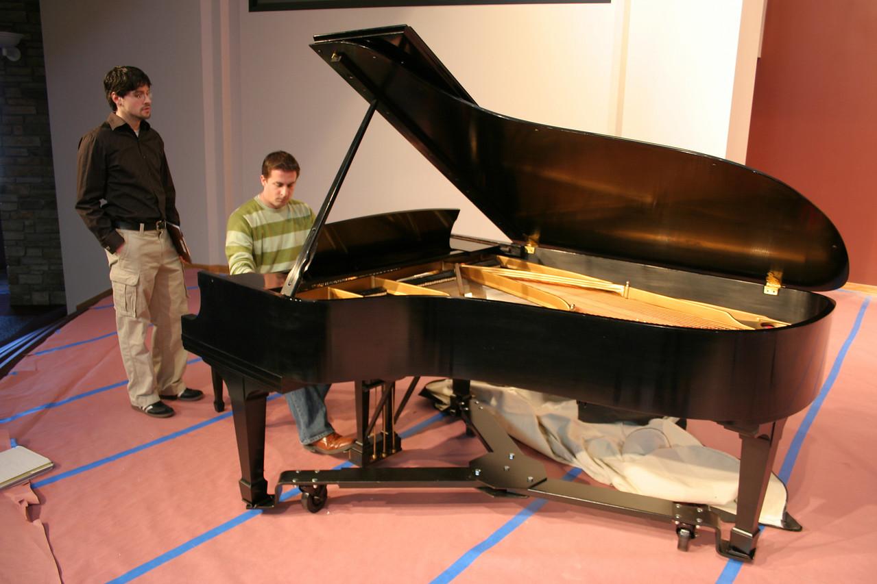 3/2/2008: New piano