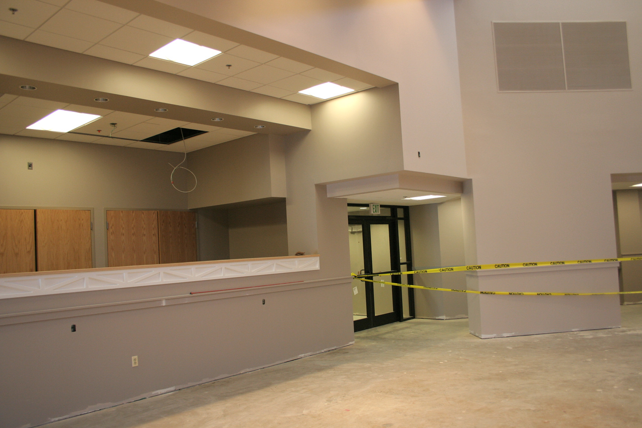 1/20/2008: sound booth and south-east entrance