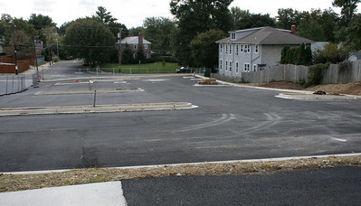 10/1/2006: the lot was paved earlier this week, at least a first coat