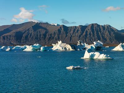 glacial river lagoon