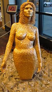 """""""The Mermaid"""" - 87,000 toothpicks!!"""