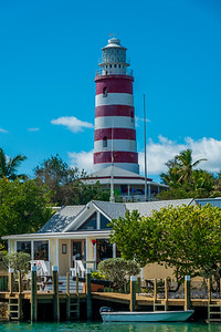 Lighthouse in Hope Town
