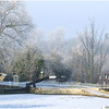 Winters Morning On The Stort by John Brooks. Highly Commended