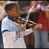 Violinist by Peter Johnson. Commended