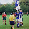 Rugby Lineout by Alan Chippett. Highly Commended