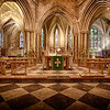 Pershore Abbey by David Woods ( Highly Commended )