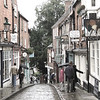 A WET MORNING IN LINCOLN  by John Brooks ( Highly Commended )