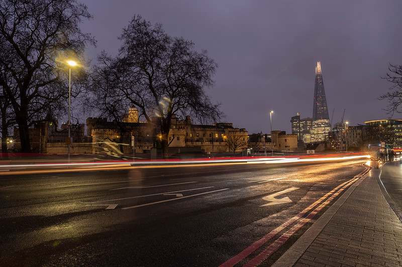 OUTSIDE TOWER HILL by RODNEY DIXON.