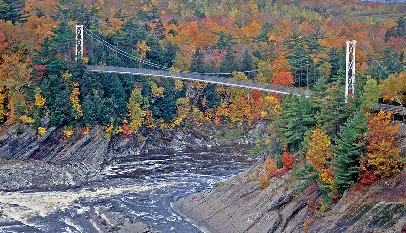 CLAUDIERE FALLS, QUEBEC by JOHN BROOKS