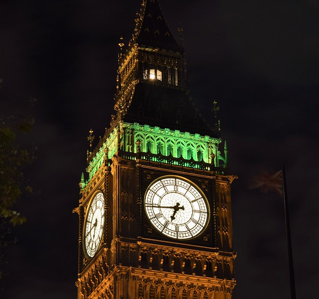 GREAT WESTMINSTER CLOCK by Colin Wright