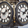 WONKY CLOCKS AT WATERLOO by Malcolm Gillespie