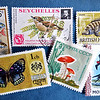 NATURE ON STAMPS by JOHN BROOKS
