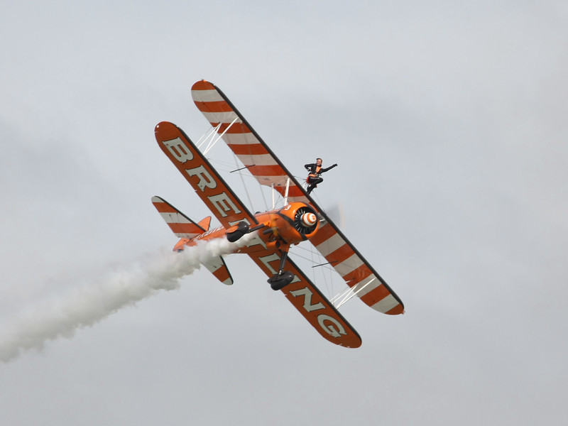 Wingwalker In Action