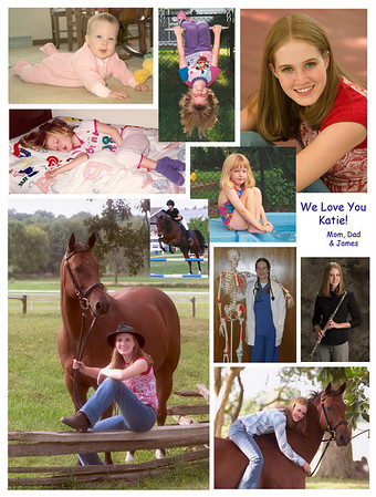 Katie Gesbeck HIgh School Year Book Tribute Page