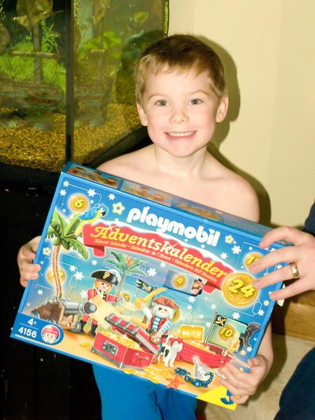 Meryk and his advent calendar 2010