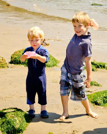Sea Cavalcade and Fun in July