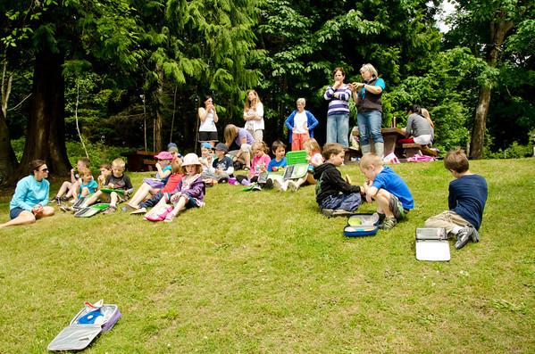 Kindergarten Field Trips 2012