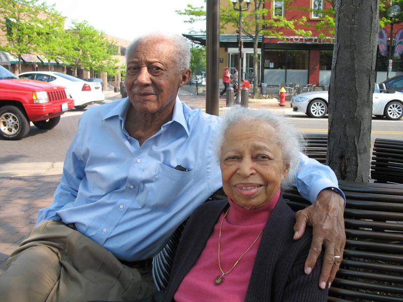 Son of Estella Wells and Lonnie Turner<br /> <br /> Edwin and Gladys Turner - Highland Park, Illinois