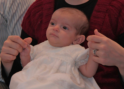 """Jack wearing the """"Thompson Family"""" Christening gown"""