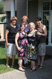 Pat Gathen, Linda Thompson, Debbi Kean, Marisa & Ruth