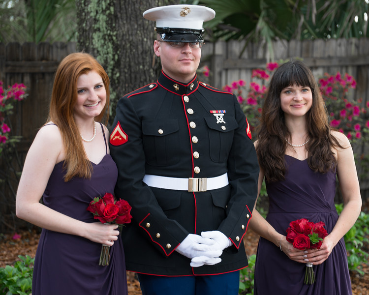 Groom And Bridesmaids - 2015