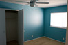 Guest bedroom #1.  I like the paint and the closet is rather large.  Overall, this room is in good shape.