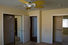 Another shot of the master bedroom, showing the two closets.  The entrance to the master bathroom is not shown, but can be found to the left.