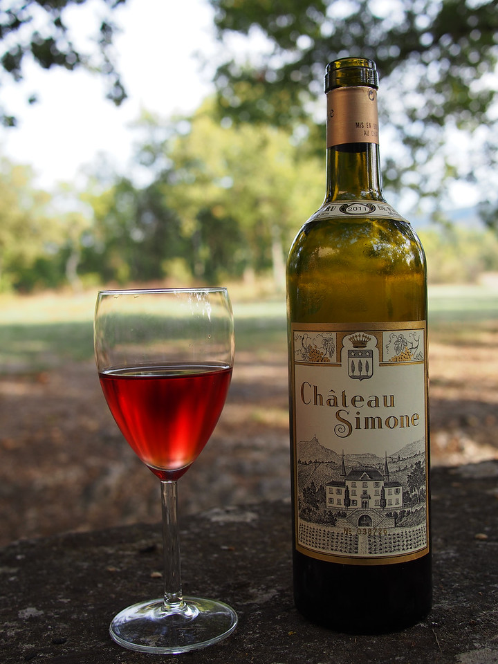 Chateau Simone rose, from Palette appellation