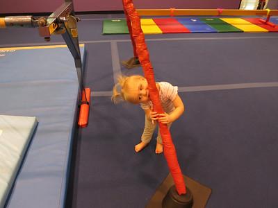 Kelsie at Little Gym