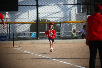 Kelsie's First T-Ball Game 4.25.16