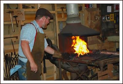 07.27.08~Tobacco Farm Museum Blacksmith Shop