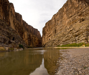 Santa Elena Canyon from Rio Grande