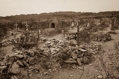 Terlingua Ghost Town Cemetery