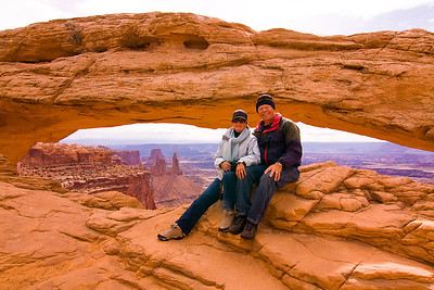 Yours truly at Mesa Arch.