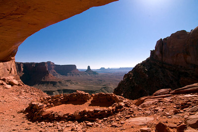 False Kiva in Canyonlands