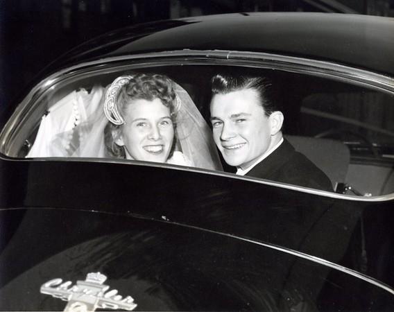 Claire & Chuck Feb. 13, 1949