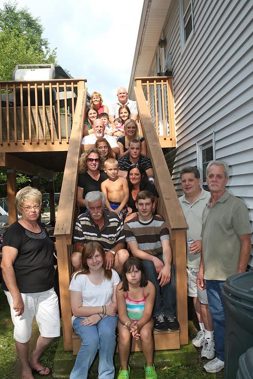 Uncle John's Visit/DeGroot Reunion 8-23-09